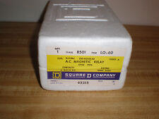 Square D A.C Magnetic Relay Class 8501 Type LO-40