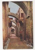 Palestine, Jerusalem, The Way of Tears Postcard, B215