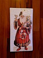 "Turn of the Century DIE-CUT Advent Calendar 23"" Tall Santa New Victorian"