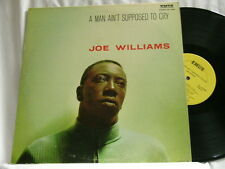 JOE WILLIAMS A Man Ain't Supposed To Cry Jimmy Mundy Emus LP