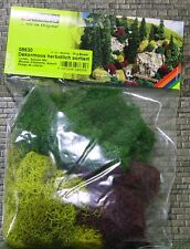 NOCN MULTI SCALE ~ 3-COLOUR LICHEN MOSS ~ #08639 suit model train