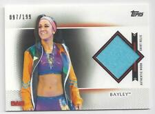 2017 TOPPS WWE WOMEN'S DIVISION SHIRT RELIC BAYLEY #97/199