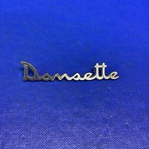 Original Chromed Plastic Vintage Dansette Badge
