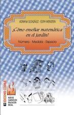Como Ensenar Matematica en el Jardin? : Numero - Medida - Espacio by Edith...