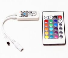 WiFi WLan RGB LED tiras Controller 144w ir Remote Ios Android echo Alexa