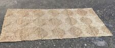 SISAL NATURAL SEAGRASS RUG MAT approx 90 x 150 cm HALL KITCHEN PORCH (3' x 5')