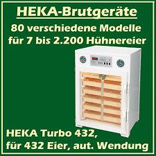 Heka TURBO 432 - Incubateur en plastique pour 432 oeufs, avec vollautomat. Twist