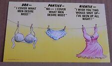 Postcard  Bamforth Comic 804 Bra Panties Nightie unposted
