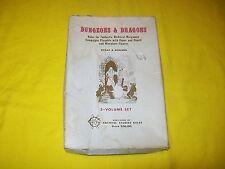 DUNGEONS & DRAGONS WHITE BOX SET VERY RARE 4TH PRINT - 3