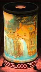 """Vintage Econolite Motion Lamp Light """"Old Mill"""" 1956 WORKS Mid Century MCM"""