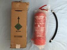 Jewel Saffire Aqua Spray Fire Extinguisher & Bracket, 6L Water With Additive 21A