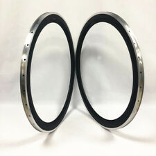 700C 23mm width 50mm depth clincher carbon rim with alloy braking edge
