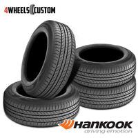 4 X New Hankook OPTIMO H724 205/75R14 95S Standard Touring All-Season Tire
