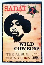 "Vintage Sadat X Wild Cowboys Hip-Hop Album Promotional Sticker 6"""