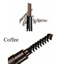 5colors Eyebrow Pencil Eye Brow Eyeliner Pen With Brush Makeup Cosmetic Tool Coffee