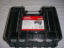 DUAL Sided Organizer Tools Parts Portable Storage Tool Fish Fishing Tackle Box