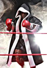 Sp-Br-Blk: Black Boxing Robe for 1/12 Storm Collectible Mike Tyson (No Figure)