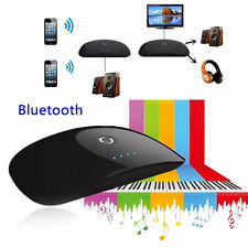 Wireless Bluetooth AUX 3.5mm Audio Stereo Adapter Music Receiver USB Charger UK