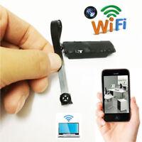 Hot Wireless Spy Nanny Cam WIFI IP Pinhole Digital Video Camera Mini Micro DVR