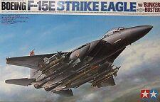 "Tamiya 1/32 ""McDonnell Douglas F-15E Strike Eagle Bunker Buster"" 60312"