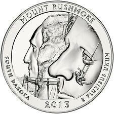 2013 ATB Mount Rushmore North Dakota Brilliant Uncirculated 5 oz Silver gem BU