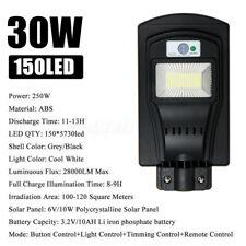 New listing 150/300/450 Led Solar Street Light Pir Motion Sensor Wall Lamp Garden +Remote