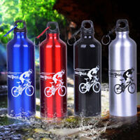 750ml Portable Outdoor Sports Cycling Camping Aluminium Alloy Water Bottle
