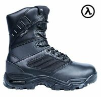 "RIDGE ULTIMATE ZIPPER WATERPROOF TACTICAL 8"" BOOTS 9000 * ALL SIZES - M/W 4-14"