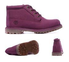 Womens Timberland Nellie Chukka WP Magenta Purple Boots RRP £119.99