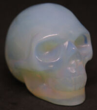 48mm 3.1OZ Opal Crystal Carving Art Skull