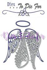 Dies...to die for metal cutting craft die Cora's Angel wings
