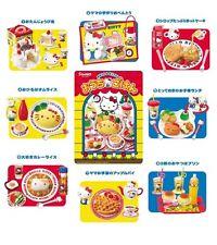 Rare! Re-ment Miniature Hello Kitty Restaurant Full Set of 8 pcs Re-ment