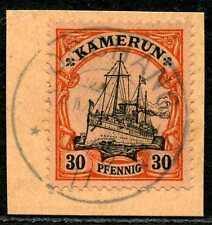 Kamerun Mi 12  PA-Briefstück   Dschang