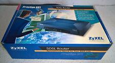 ZyXEL Prestige 681 SDSL Router 600 Series für Retro Computer Internet OVP