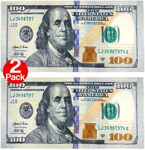 "Kaufman  2 Pack 100 Dollar  Bill Beach/Pool Towel 30"" x 60""  (106028-2pk)"