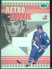 JOE SAKIC 03/04 AUTHENTIC PIECE OF A RETRO ROOKIE GAME-USED JERSEY /70  SP