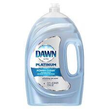 Dawn Platinum Refreshing Rain Scent Dish Washing Liquid Detergent 75 oz NEW!