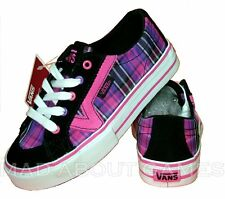 VANS OFF THE WALL SHOES TRAINERS NEW GIRLS UK 11.5 PINK
