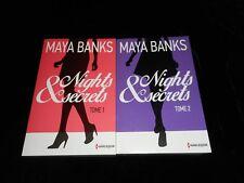 Maya Banks : Nights & secrets 1 & 2 Editions Harlequin