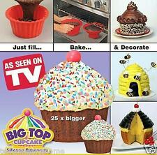 Party Silicone Giant Cupcake Muffin Mould Big top Silicone Cake Mold Magic Bake