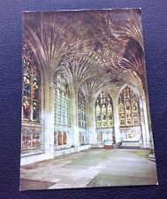 POSTCARD: (PES/80/5): PETERBOROUGH CATHEDRAL: COLOUR: POSTED