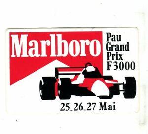 PAU GP F3000 Marlboro original sticker autocollant adhesivo Aufkleber unused