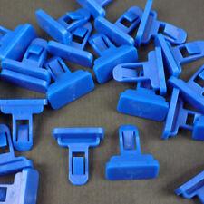 100 For Toyota For Lexus Fender Flare & Bumper Clip Blue Nylon Retainer Fastener