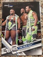 2017 Topps WWE Then Now Forever The New Day Roster Update Walmart #R-29