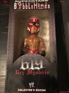 WWE 2003 Rey Mysterio Collector's Edition Wrestling Bobble Head