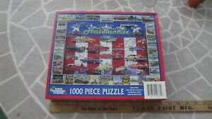 WHITE MOUNTAIN 1000 Piece Puzzle #37959: First 100 Years The American Automobile