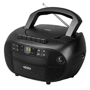 Jensen[r] Cd-550 Portable Stereo Cassette Recorder & Cd Player With Am/fm Radio