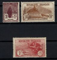 D129256/ FRANCE / ORPHANS / Y&T # 229 / 231 MINT MNH - CV 343 $