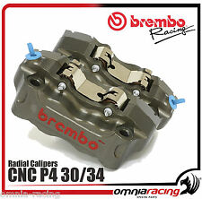 Coppia Pinze Brembo CNC Radiali 100 mm P4 30/34 Racing Calipers ref. 220A16810