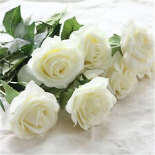 Flower Artificial Floral Silk Fake Flower Bouquet Home Decor Wedding Decor